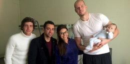 Piłkarze Barcelony spotkali Polaka i zrobili sobie z nim zdjęcie