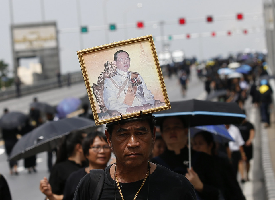 THAILAND ROYALTY (Preparations for the royal cremation ceremony of late Thai King Bhumibol)