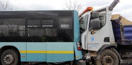 Wypadek autobusu w Katowicach. 9 osób rannych