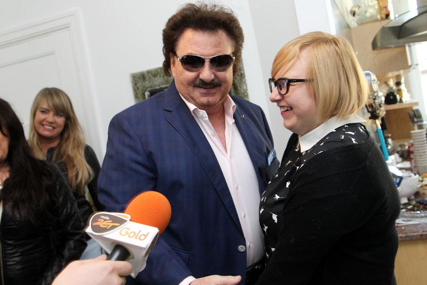 Krzysztof Krawczyk i Małgorzata Jóźwiak