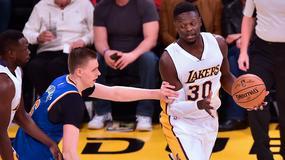 NBA: Porzingis przekazał 43 tys. dol. za udane bloki