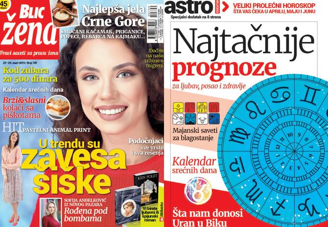 """Nova """"Blic žena"""" na kioscima je od subote 23. marta"""
