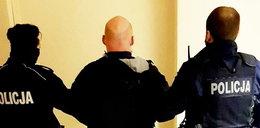 Obrzucał policjantów jajkami. Nie chciał wpuścić ich do mieszkania