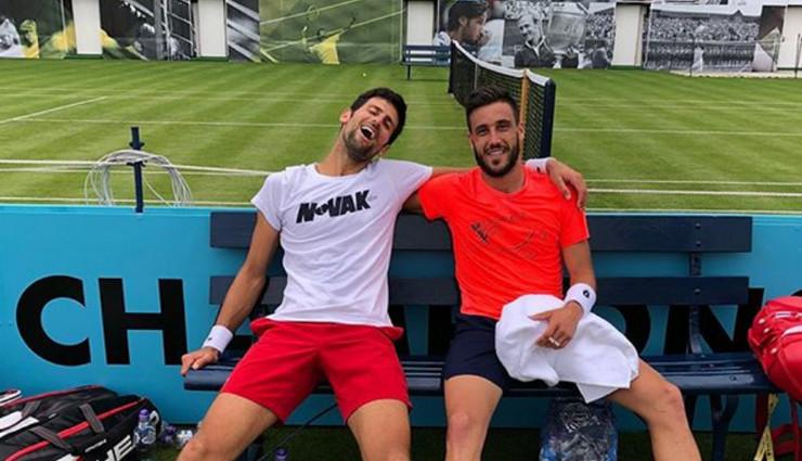 Novak Đoković i Damir Džumhur