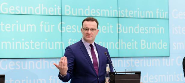Jens Spahn, niemiecki minister zdrowia