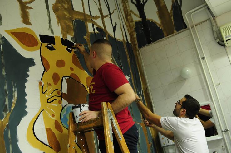 Tiršova mural pijanista andrej josifovski i bogdan ostojic brva