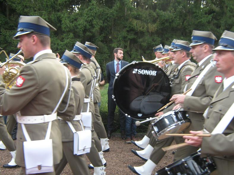 Obchody 70-lecia wyzwolenia Flandrii przez Pierwszą Dywizję Pancerną gen. Stanisława Maczka na cmentarzu wojskowym w Lommel