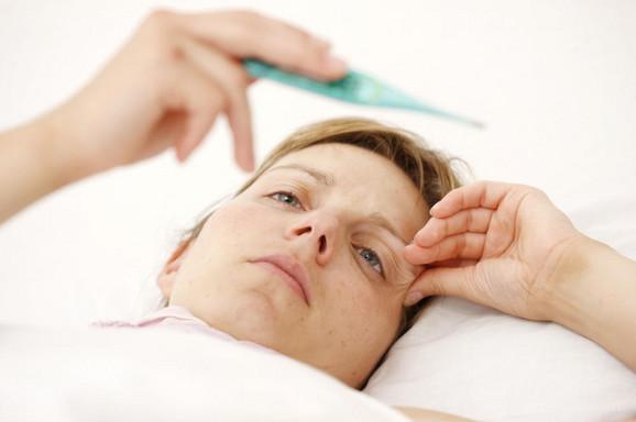 Visoka  temperatura je glavni signal za grip