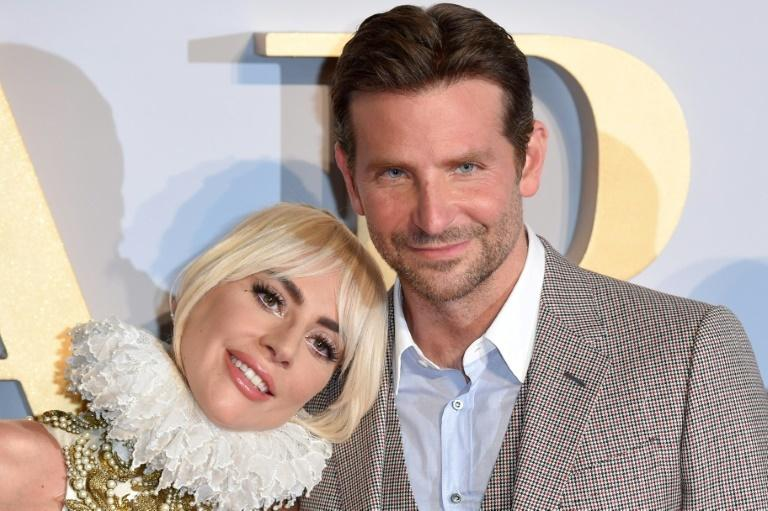 "Lady Gaga (L) and Bradley Cooper -- seen at the London premiere of ""A Star is Born"" in September 2018 -- are seen as near-certain Golden Globe nominees"