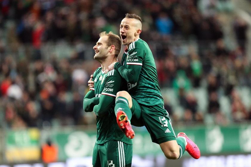Ekstraklasa: Śląsk Wrocław - Górnik Zabrze 2:1