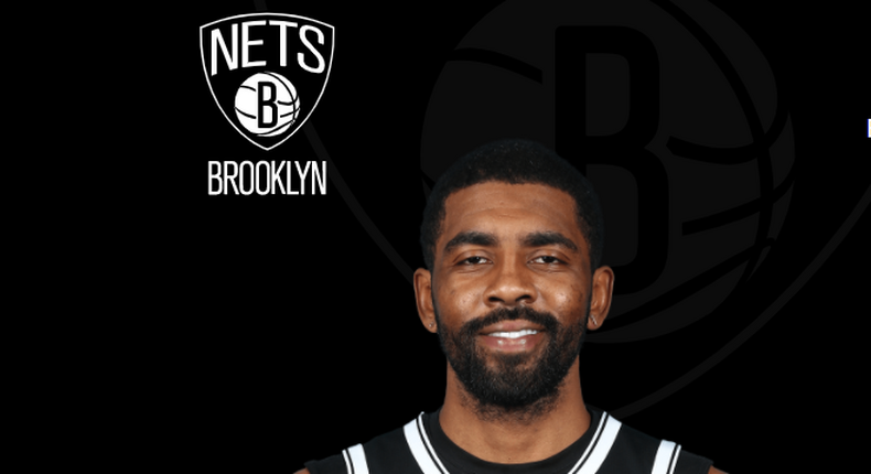 American basketball player Kyrie Irving of the Brooklyn Nets. Kyrie has decided not to take the Covid-19 vaccine