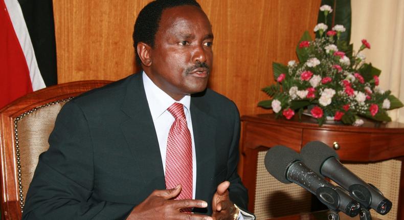 Wiper Party leader Kalonzo Musyoka.