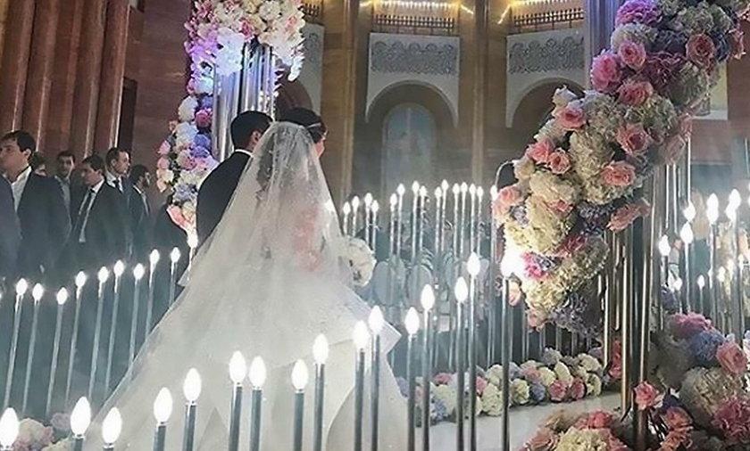 Ślub Karena Karapetyana - syna najbogatszego obywatela Armenii