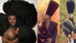 Benny Harlem and his record-breaking hair (more photos)
