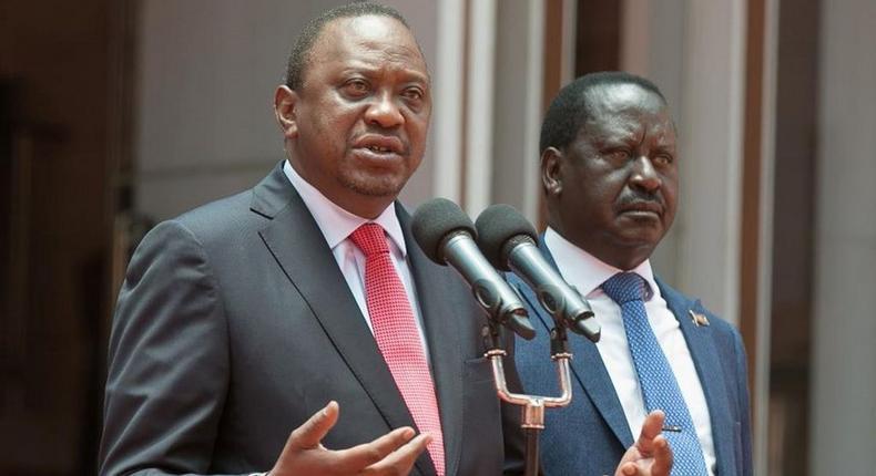 Uhuru, Raila lead Kenyans in mourning Senator Haji