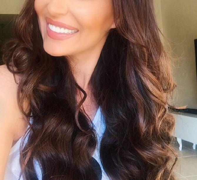 Svetlana Ceca Ražnatović: nova frizura i širok osmeh