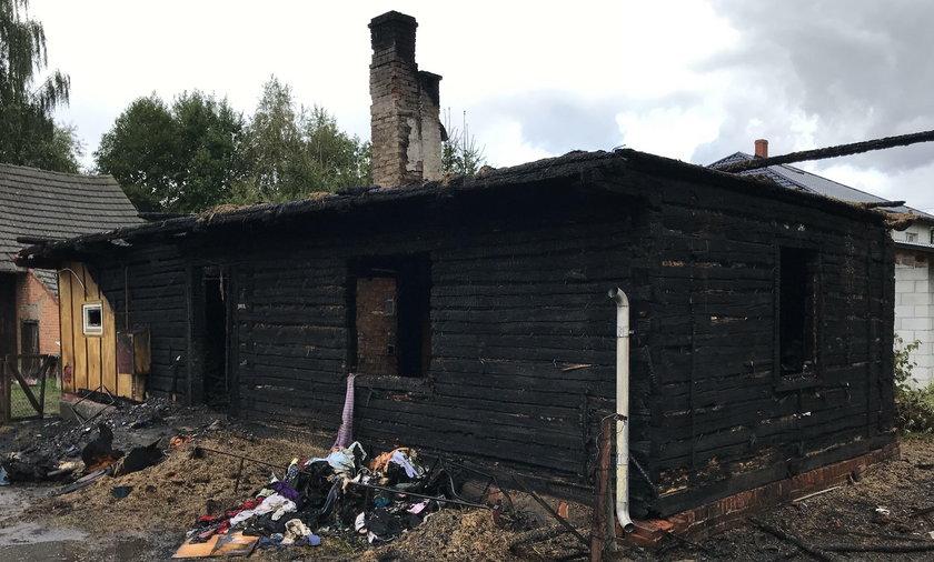 Tragiczny pożar w Gorzycach