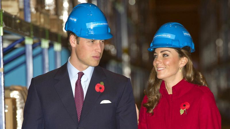 William, następca tronu, który nie przepada za królewskim protokołem