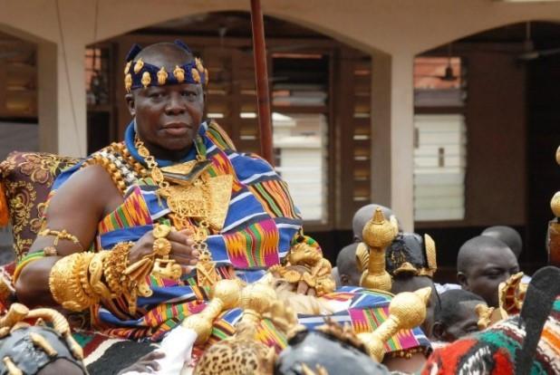 Otumfuo Osei Tutu II, Ashanti, Ghana. [ghanacelebrities]