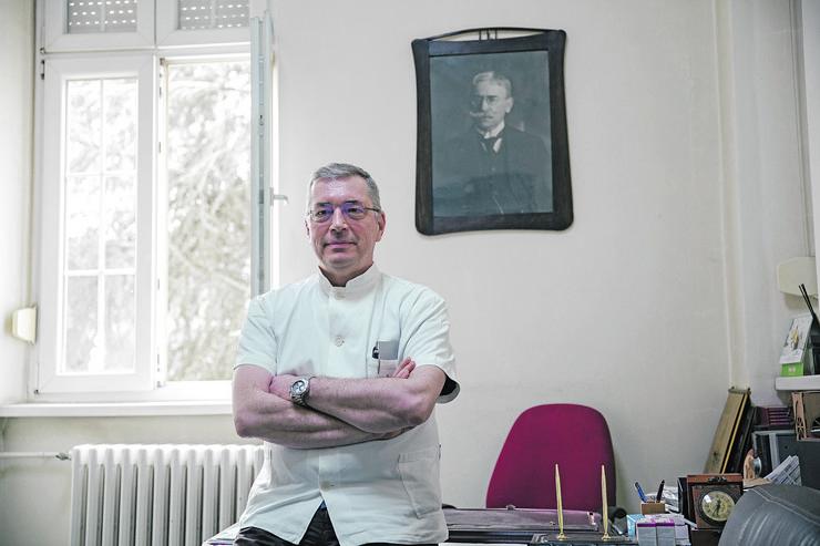 Prof. dr Aleksandar Simić, KCS