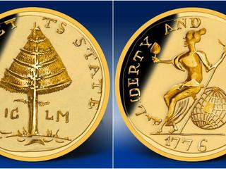 Pine tree coin