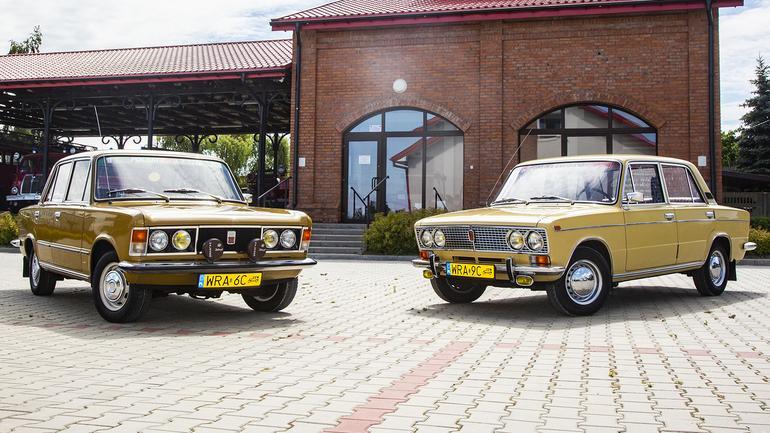 Polski Fiat 125p 1500 kontra Łada 1500 - tak podobne, a jednak tak różne