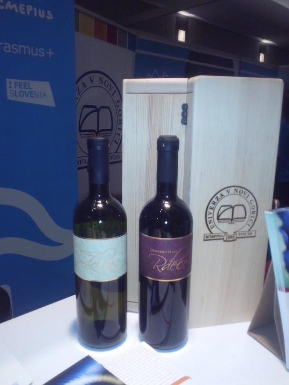 Vino koje je proizvod studenata  Univerziteta u Novoj Gorici