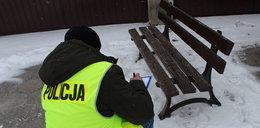 Szubrawiec z Łowicza ukradł ławkę z rynku