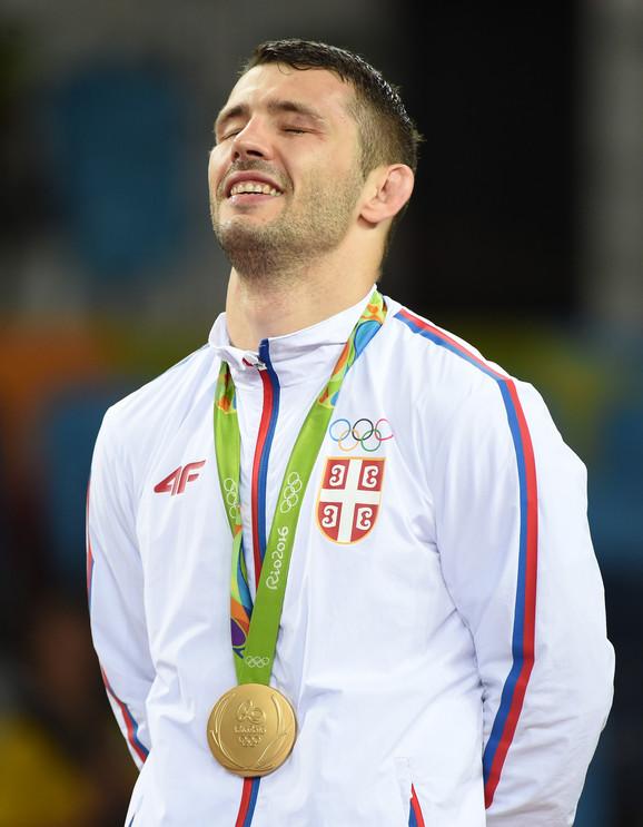 Davor Štefanek je osvojio zlato na OI u Riju 2016.