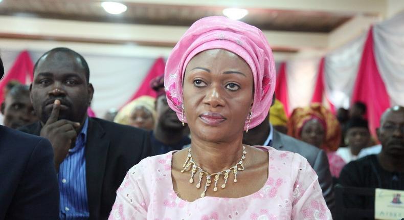 Senator Remi Tinubu represents Lagos Central in the Senate (Punch)