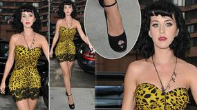 """Katy Perry w sukience rodem z """"Flinstonów"""""""