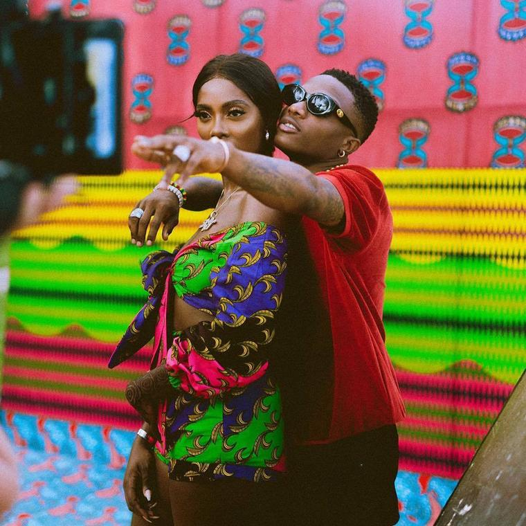 Wizkid and Tiwa Savage have used a lot of 'stew' to get people talking