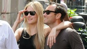 Zakochany Jude Law z dziewczyną w Rzymie