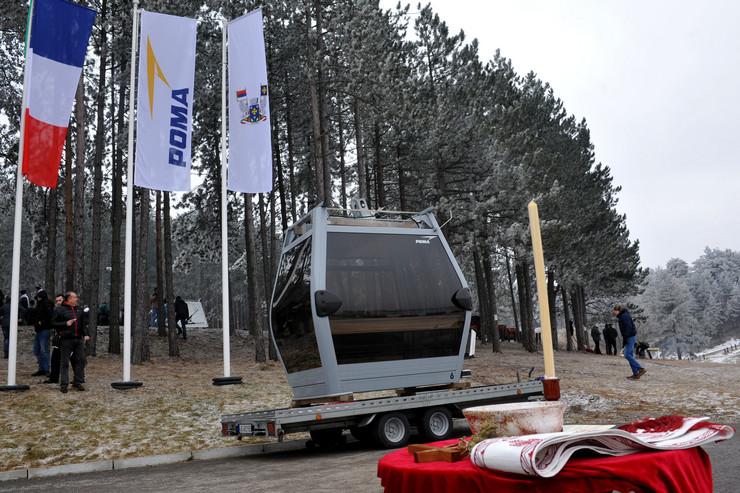 Kabina zlatiborske gondole
