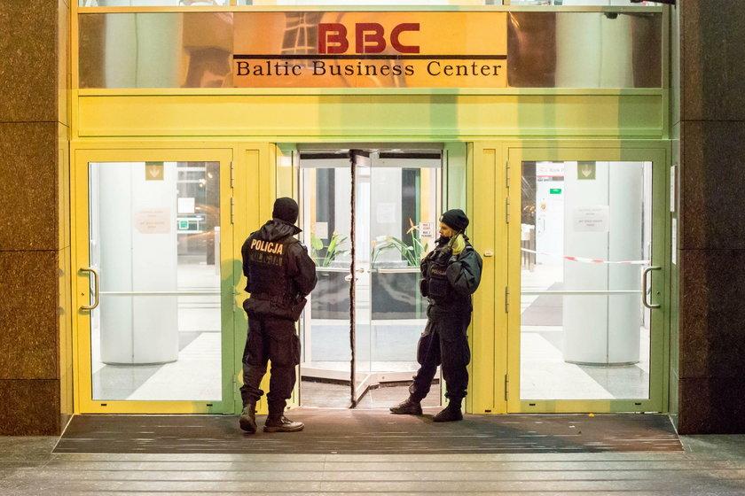 Strzelanina w siedzibie Reuters w Gdyni