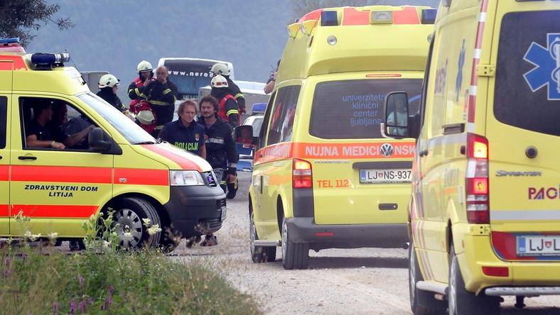 Słoweńska agencja STA poinformowała, powołując się na naocznych świadków, że w powietrzu znajdowały się dwa balony, z których jeden zapalił się, gdy próbował lądować z powodu burzy. Drugi balon wylądował szczęśliwie