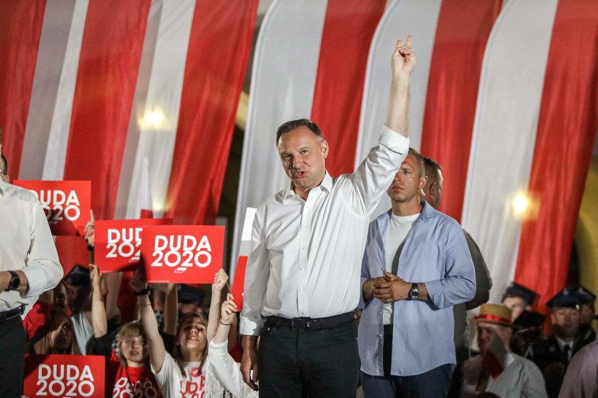 Sztab Andrzeja Dudy mógł złamać prawo