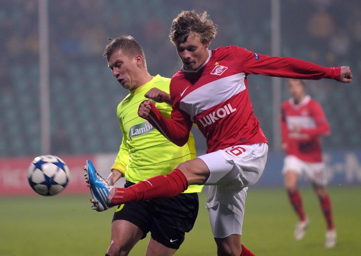 FK Žilina, FK Spartak Moskva