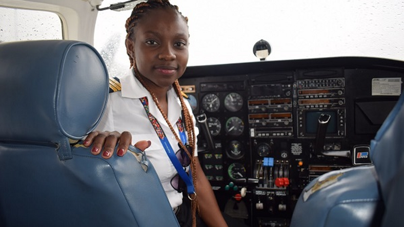 Audrey Esi Swatson, Ghana's youngest female commercial pilot