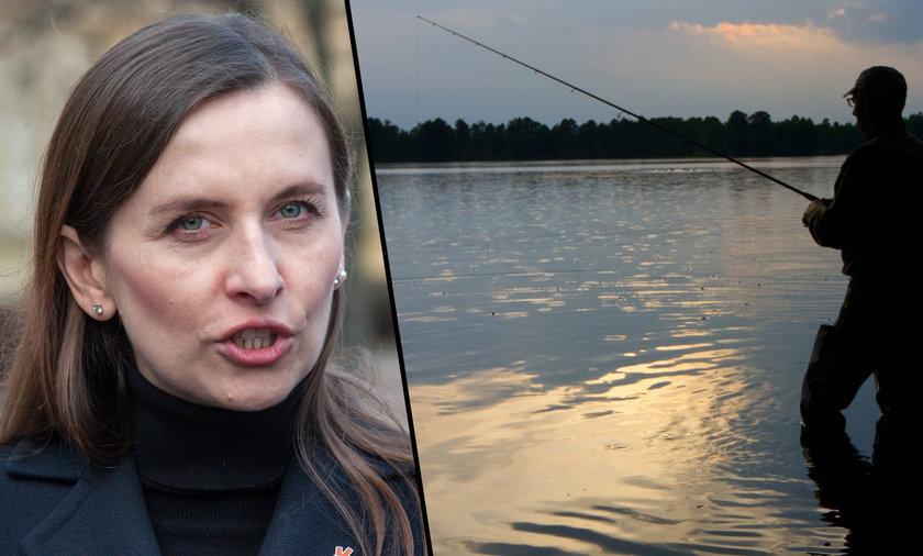 Europosłanka Sylwia Spurek chce zakazać wędkarstwa.