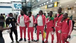 Team Ghana departs to Ukraine for Ju Jutsu World Cup