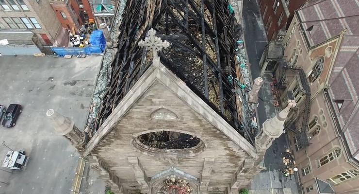 Crkva Njujork iz vazduha