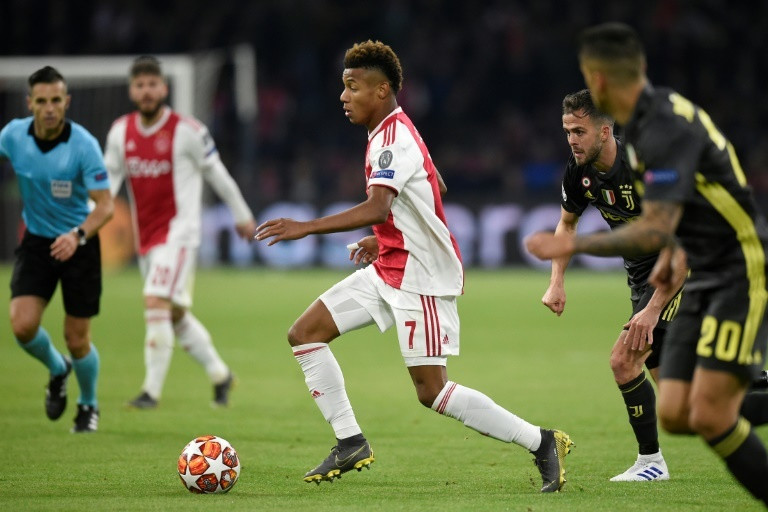 Neres came on just after halftime and made an instant impact for Ajax against Juventus