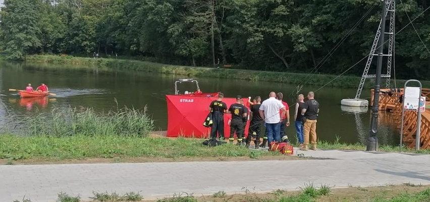 Tragiczny finał poszukiwań. Ciało seniora dryfowało w zbiorniku wodnym