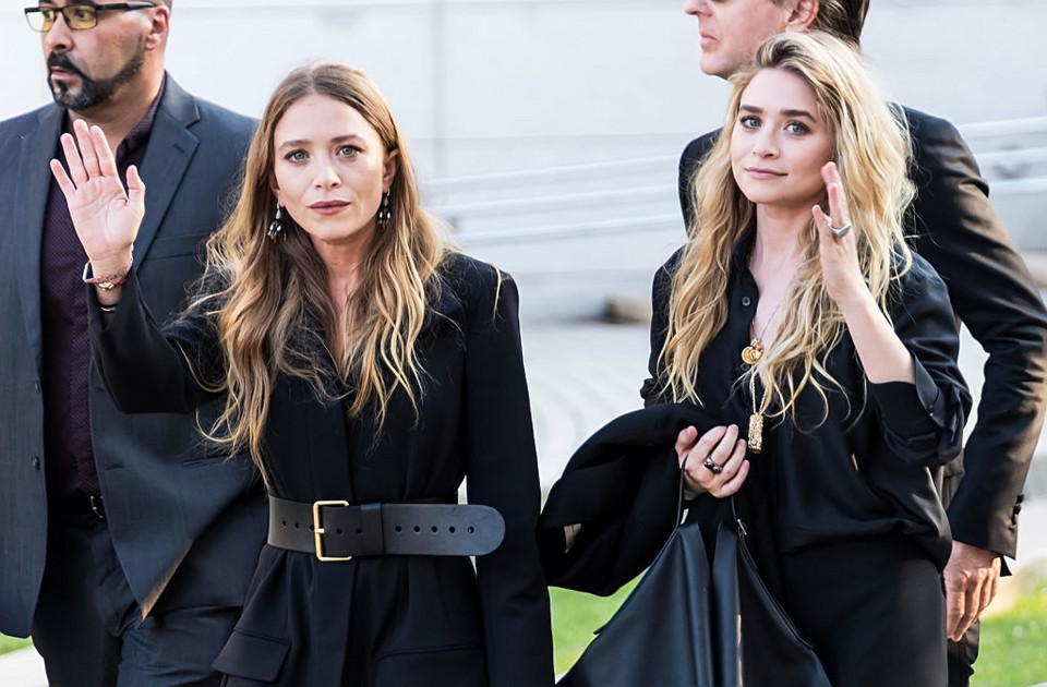 Mary-Kate i Ashley na CFDA Fashion Awards 4 czerwca 2018