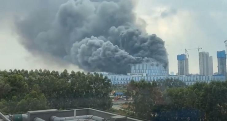 Požar u laboratoriji Huavej