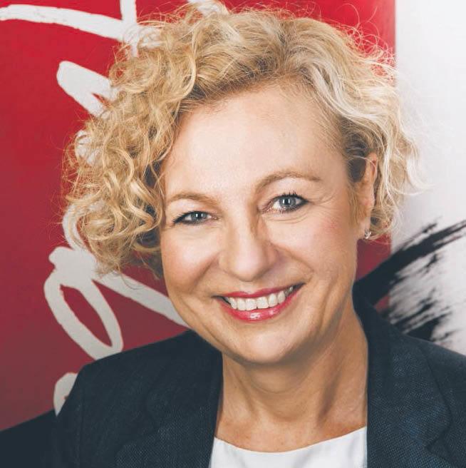 Jolanta Jaworska, VP Advocacy ABSL oraz dyrektor w IBM  fot. mat. prasowe