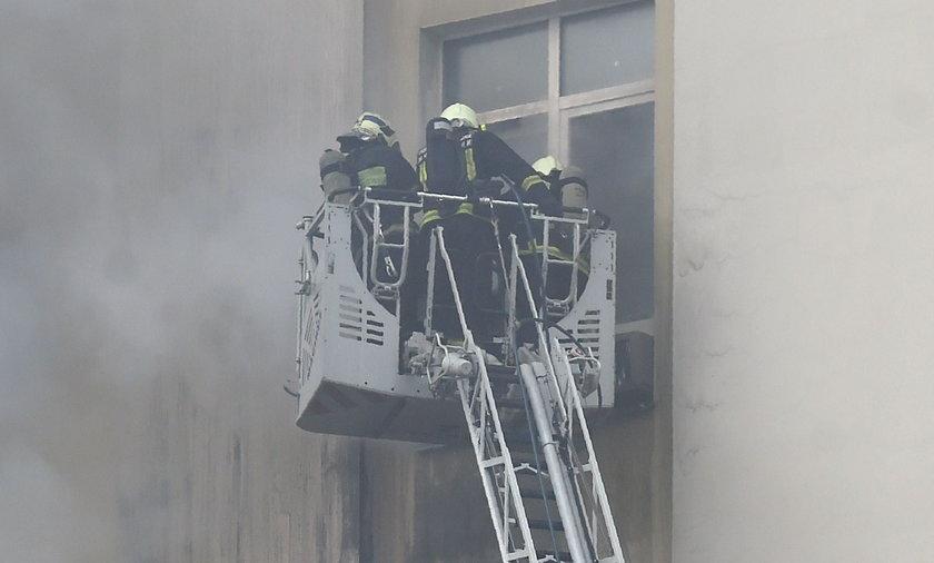 Pożar hotelu pod Lipskiem