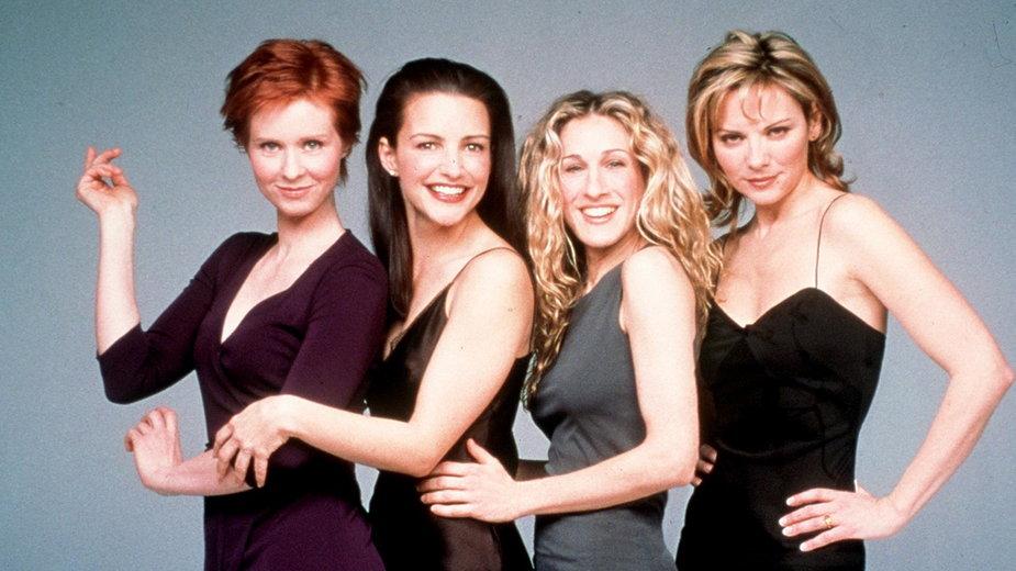 """Obsada """"Seksu w wielkim mieście"""": Cynthia Nixon, Kristin Davis, Sarah Jessica Parker i Kim Cattrall"""