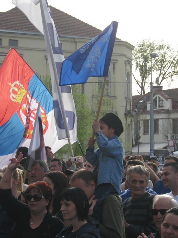 Šeseljeve pristalice u Kruševcu